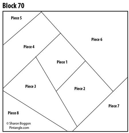 crazy quilt block 70 free pattern pintangle Interesting Crazy Quilt Block Pattern Gallery