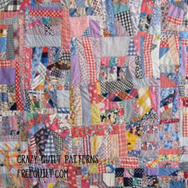 crazy quilt patterns crazy quilt block patterns Interesting Crazy Quilt Patterns For Beginners Gallery