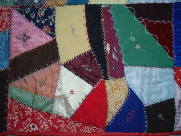 crazy quilts the history of a victorian quilt making fad Interesting Crazy Quilt Patterns For Beginners Gallery
