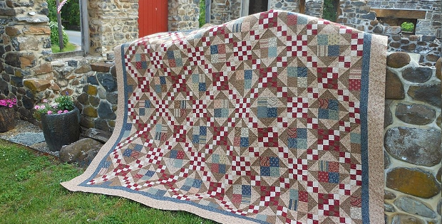 create a beautiful reproduction civil war quilt quilting Civil War Reproduction Quilt Patterns Inspirations