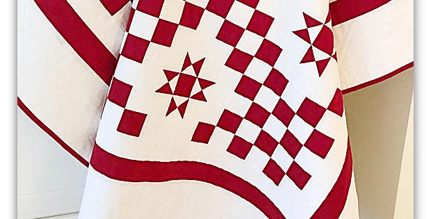 create a classic red and white quilt quilting digest Cool Red And White Quilt Patterns