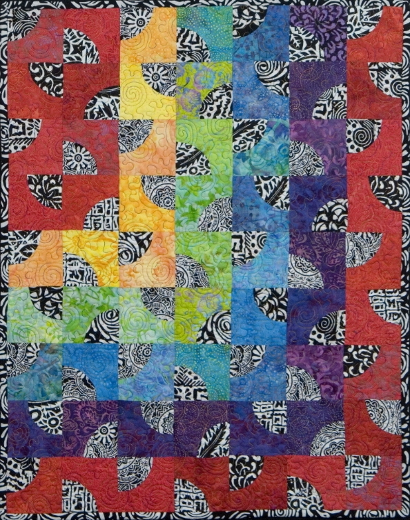 create dazzling contemporary art quilts with bluprint kits Modern Contemporary Art Quilt Patterns Inspirations