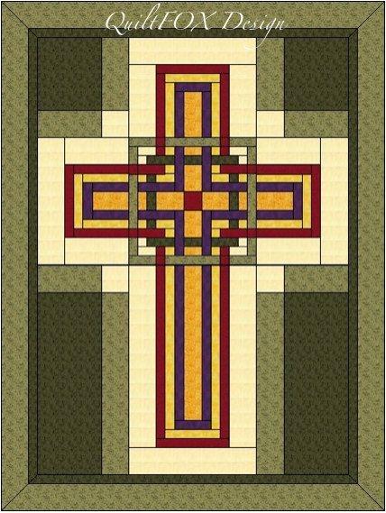 cross quilt pattern carpenters corner cross celtic cross Modern Celtic Cross Quilt Pattern Gallery