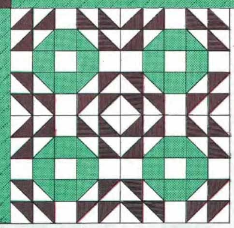 crown of thorns block pattern freequilt Cozy Crown Of Thorns Quilt Pattern