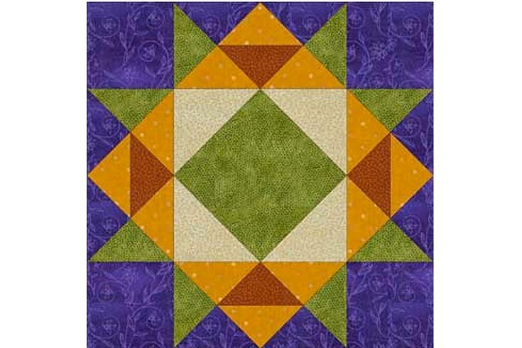 crown of thorns quilt block pattern Cozy Crown Of Thorns Quilt Pattern