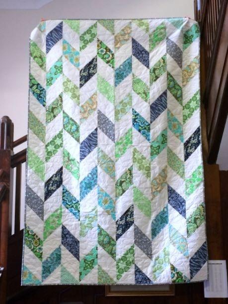 daisy chain strip quilt tutorial strip quilt patterns free Elegant Quilt Patterns Using Strips