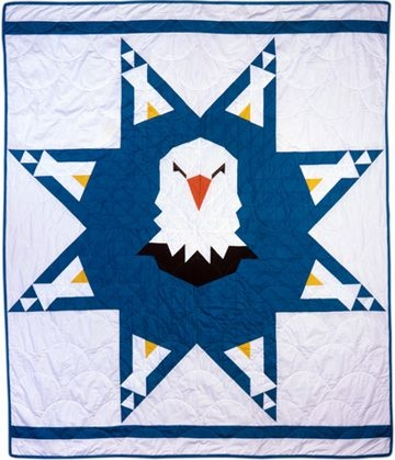 dancing eagles star quilt pattern north american indian Cool American Indian Quilt Patterns Gallery