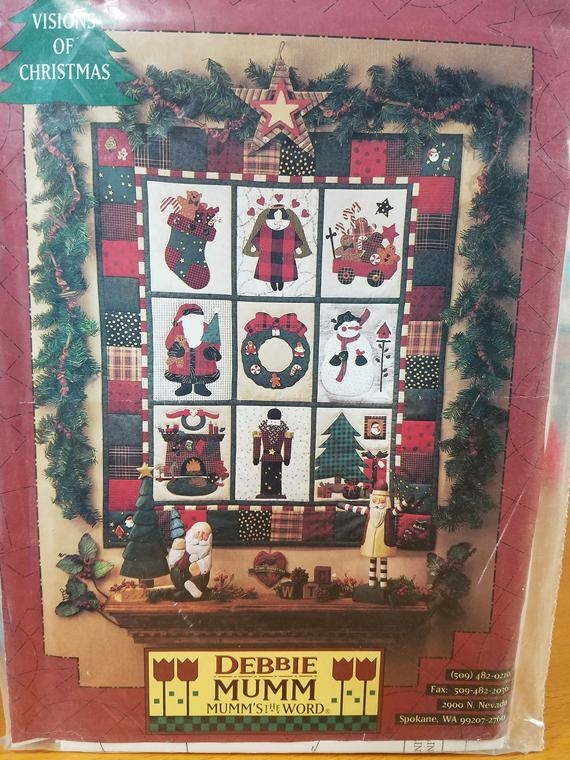 debbie mumm quilt printed pattern visions of christmas Interesting Debbie Mumm Quilt Patterns Inspirations