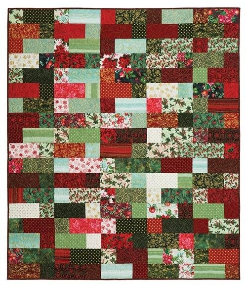 deck the halls quilt kit keepsake quilting quilting Unique Keepsake Quilting Patterns Inspirations
