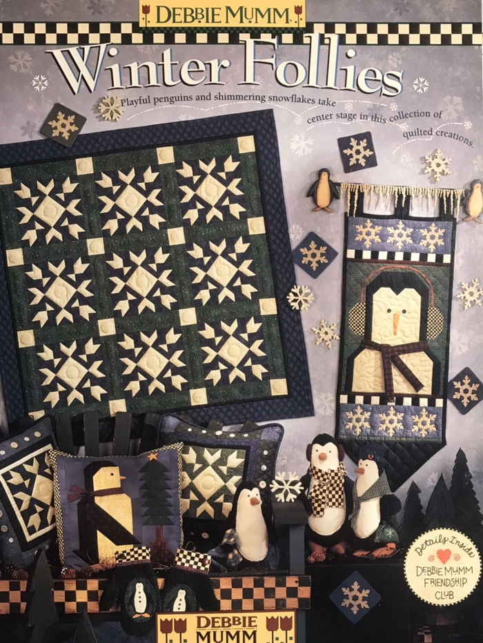 details about quilting book debbie mumm winter follies Interesting Debbie Mumm Quilt Patterns Inspirations