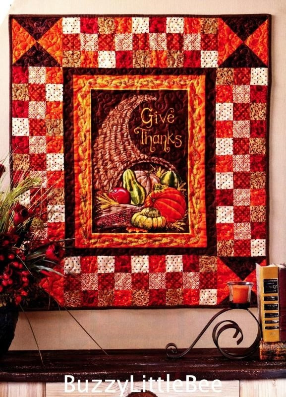 details about thanksgiving wall quilt quilt pattern Stylish Thanksgiving Quilt Patterns
