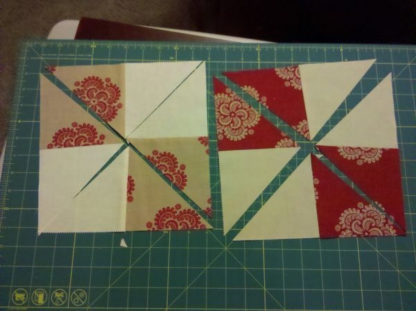 disappearing 4 patchpinwheel using charm packs quilt Cool 4 Patch Quilt Block Patterns