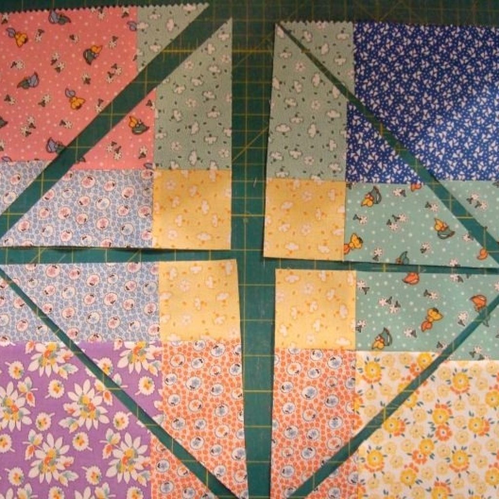 disappearing 9 patch quilt block criss cross cut quilt Cool Disappearing Nine Patch Quilt Patterns Gallery