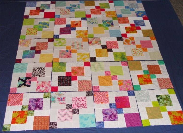disappearing 9 patch tutorial crafts nine patch quilt 9 Cool Disappearing Nine Patch Quilt Patterns Gallery