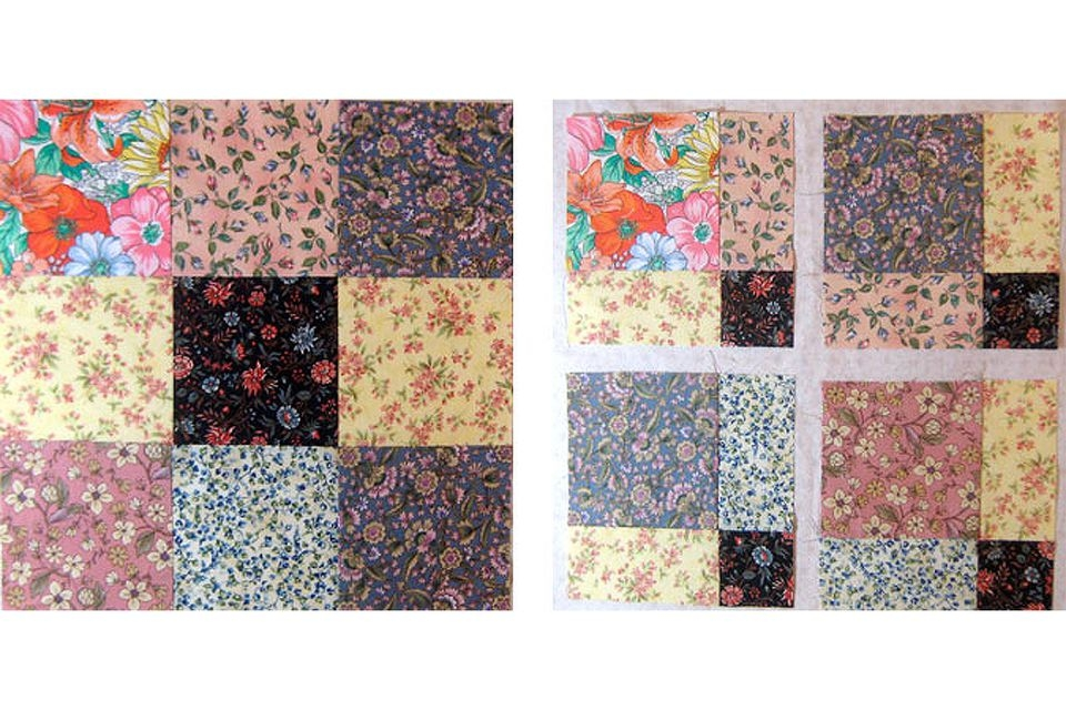 disappearing nine patch quilt pattern Cool Disappearing Nine Patch Quilt Pattern