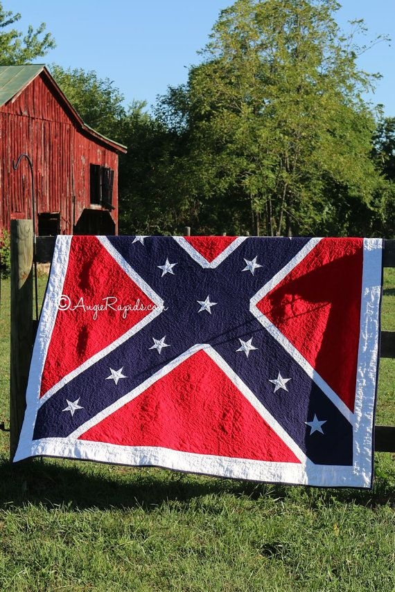 dixie land quilt pattern farmhousesoapshop on etsy Elegant Confederate Flag Quilt Patterns