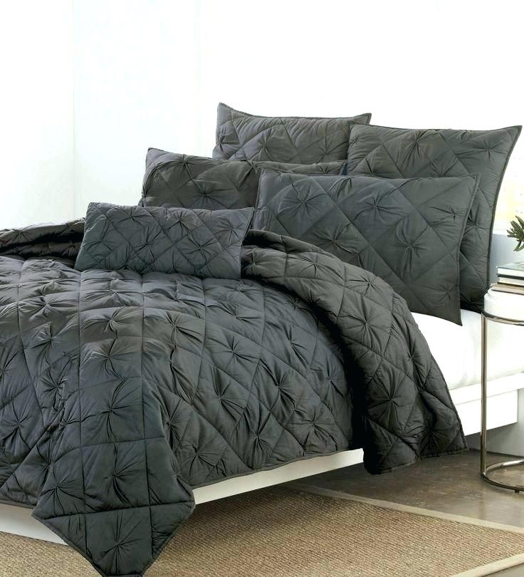 dkny quilts diamond tuck quilt collection in charcoal add Cool Dkny Chrysanthemum Vintage Floral Quilt Gallery