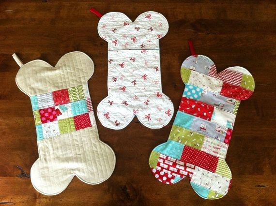dog bone stockings pattern pdf file quarksandwidgets on Elegant Quilt Pattern For A Dog Bone