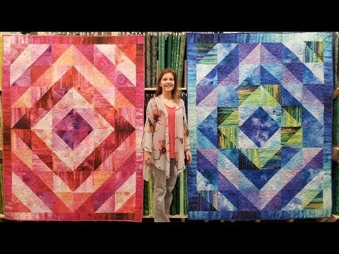 donnas free gradients quilt pattern youtube Cool Quilting Youtube Quilt Patterns Gallery