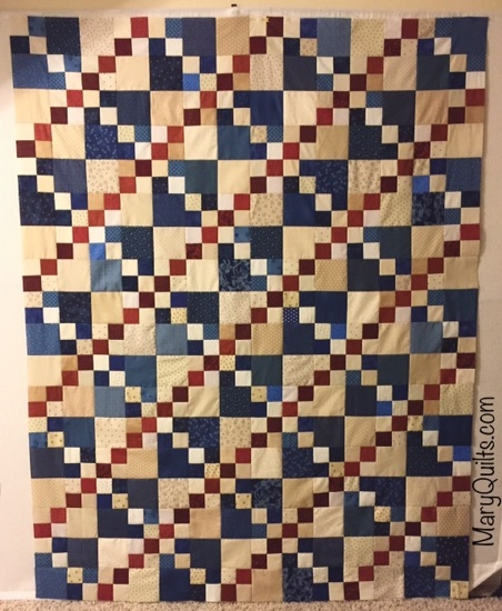 double 4 patch maryquilts Elegant Double Four Patch Quilt Pattern Gallery