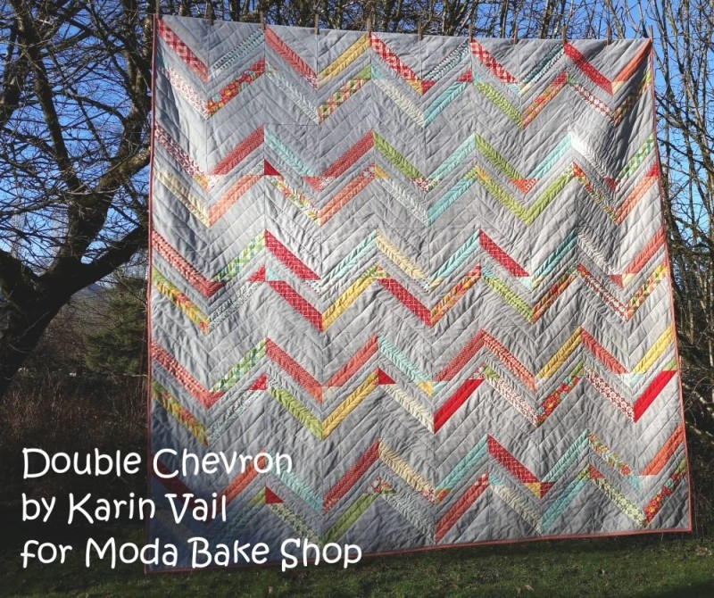 double chevron quilt moda bake shop Stylish Jelly Roll Chevron Quilt Pattern Gallery