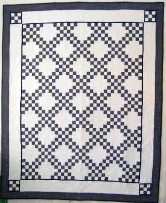 double irish chain quilt pattern i teach classes how to Cozy Double Irish Chain Quilt Pattern Gallery