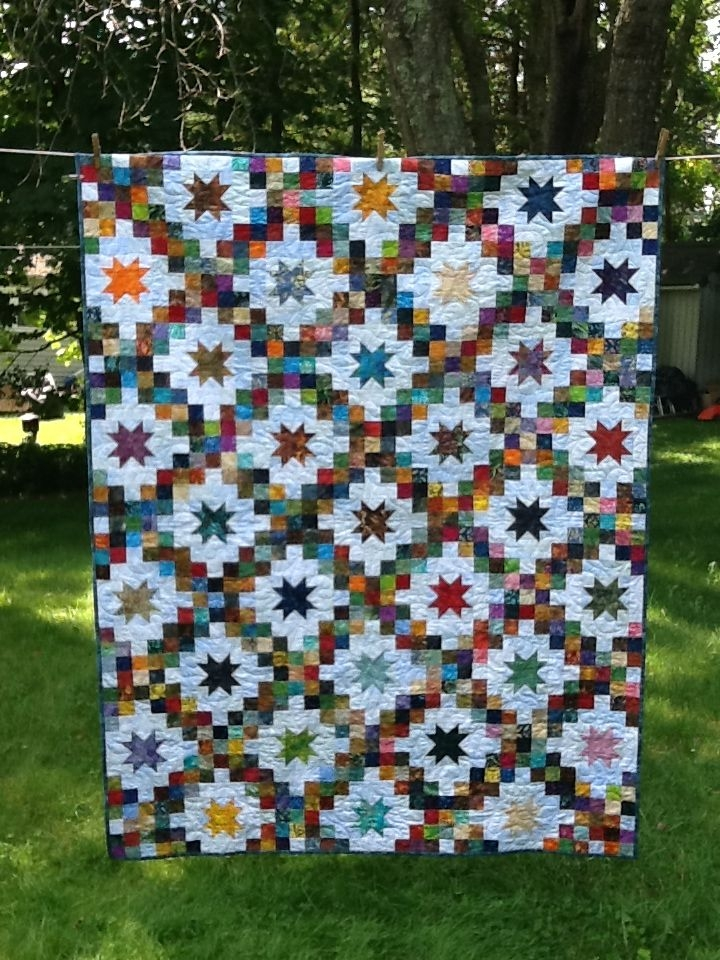 double irish chain stars my quilts irish chain quilt Cozy Double Irish Chain Quilt Pattern Gallery