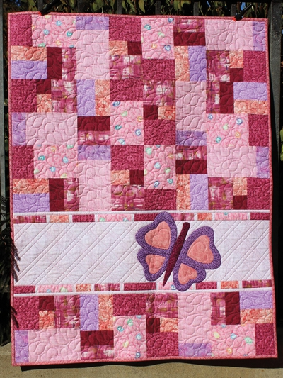 double jumble butterfly quilt pattern Stylish Little Girl Quilt Patterns Gallery