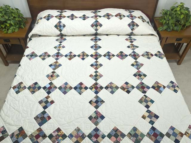 double nine patch quilt terrific specially made amish Double Nine Patch Quilt Pattern Gallery