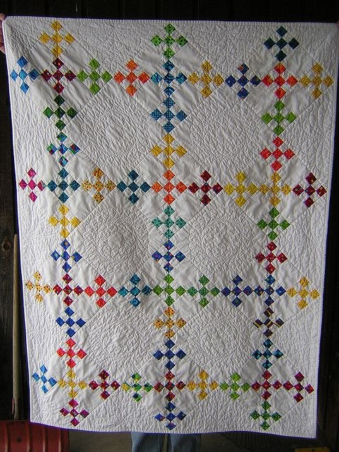 double nine patch whole quilt quilts 9 patch quilt nine Double Nine Patch Quilt Pattern Gallery
