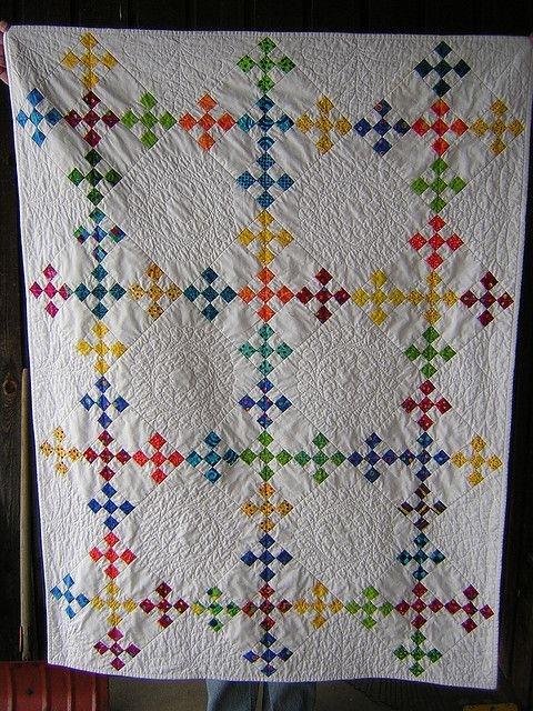 double nine patch whole quilt quilts 9 patch quilt nine Double Nine Patch Quilt Pattern Gallery