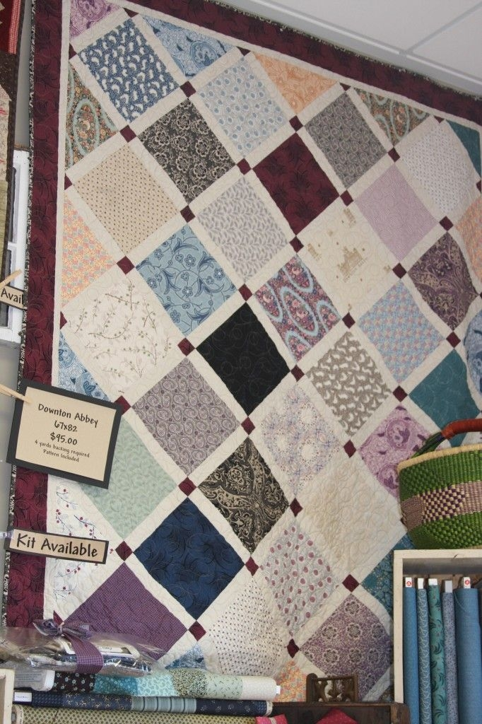 downton abbey quilt patterns downton abbey fabric Interesting Downton Abbey Quilt Patterns Inspirations