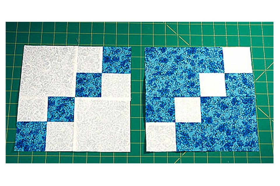 dual double four patch quilt block pattern Interesting Two Block Quilt Patterns Inspirations