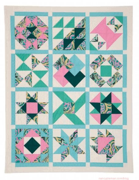 easily sew 12 square triangles with no hassle triangle tool Cozy Easy Triangle Quilt
