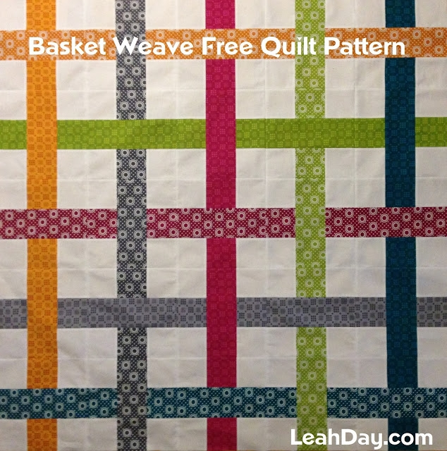 easy basket weave quilt pattern free motion quilting project Unique Basket Weave Quilt Pattern