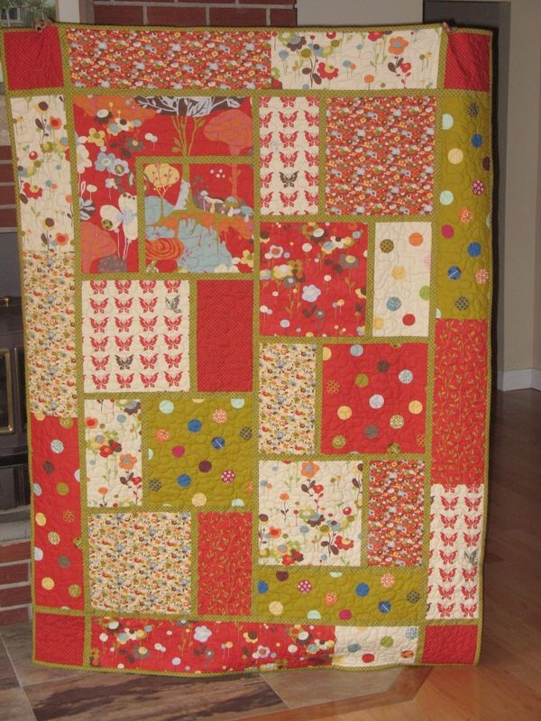 easy big blocks queen size quilt patterns name attachment Modern Quilt Block Patterns By Size Gallery