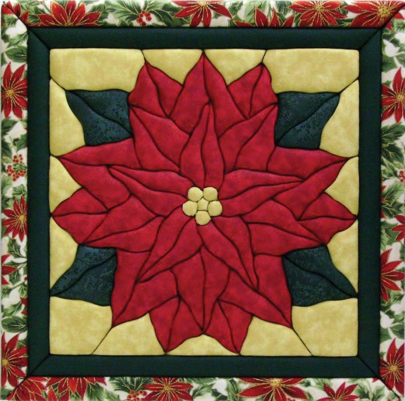 Permalink to Modern Poinsettia Quilt Block Pattern Gallery