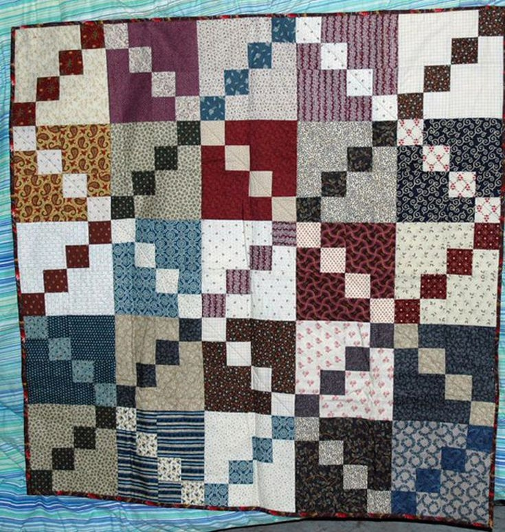 easy double four patch scrap quilt pattern Elegant Double Four Patch Quilt Pattern Gallery