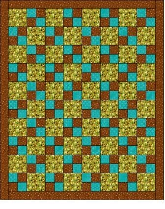 easy four patch charity quilt pattern quilting Easy Four Patch Quilt Pattern
