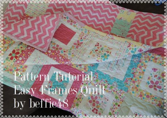 easy frames quilt tutorial use charm pack jelly roll honey bun Cool Jelly Roll Charm Pack Quilt Patterns Gallery