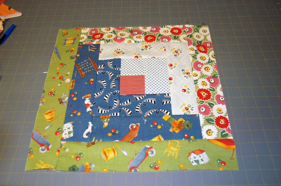 easy log cabin quilt block pattern Interesting Log Cabin Quilt Block Patterns Gallery