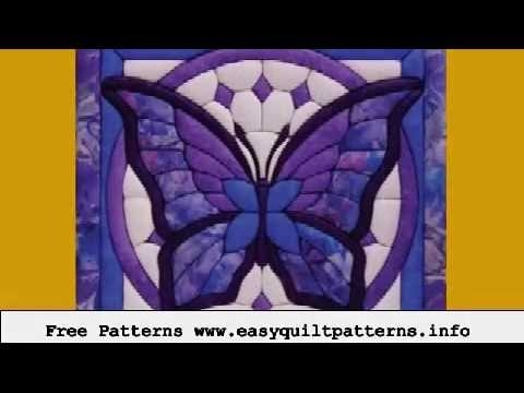 easy machine quilting butterfly applique quilt block patterns Interesting Butterfly Applique Quilt Pattern Gallery