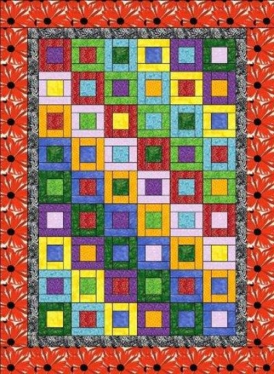 easy quilt patterns you cant live without and they are fun Cozy Block Quilt Patterns For Beginners Gallery