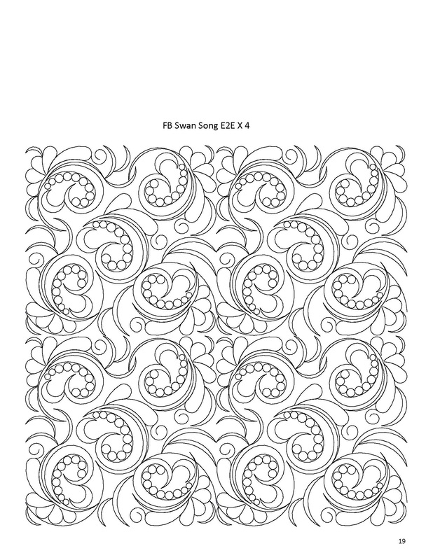 edge to edge quilting longarm quilting patterns Cool Quilting Stitching Patterns Inspirations