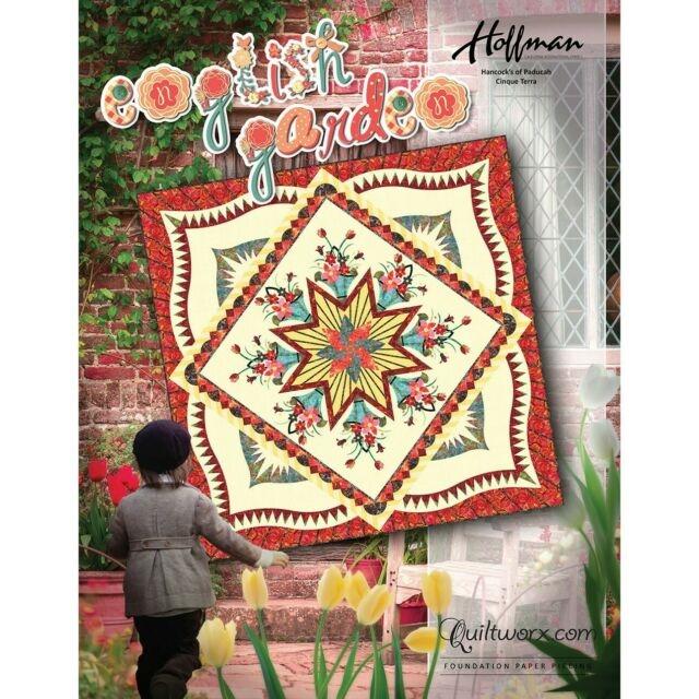 english garden quilt pattern quiltworx judy niemeyer quilting hancocks cover Cool Judy Niemeyer Quilt Patterns
