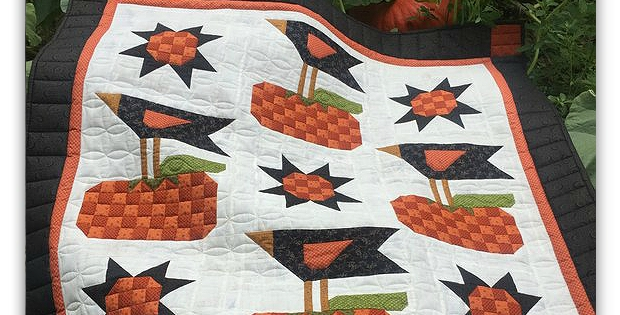enjoy this whimsical quilt every fall quilting digest Whimsical Quilt Patterns Inspirations