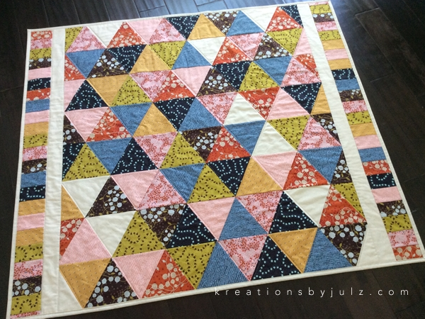 equilateral triangle quilt kreations julz Cozy Equilateral Triangle Quilt Gallery