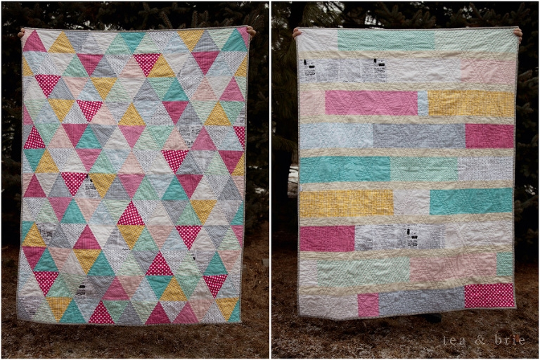 equilateral triangle quilt tea brie quilting sewing Cozy Equilateral Triangle Quilt Gallery