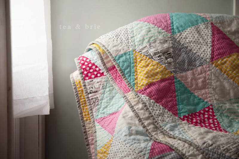 equilateral triangle quilt tea brie quilting sewing Interesting Equilateral Triangle Quilt Tutorial Inspirations