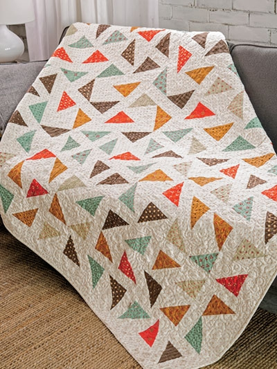 exclusively annies quilt designs triangle mix up quilt pattern Cozy Quilt Patterns For Charm Packs Inspirations